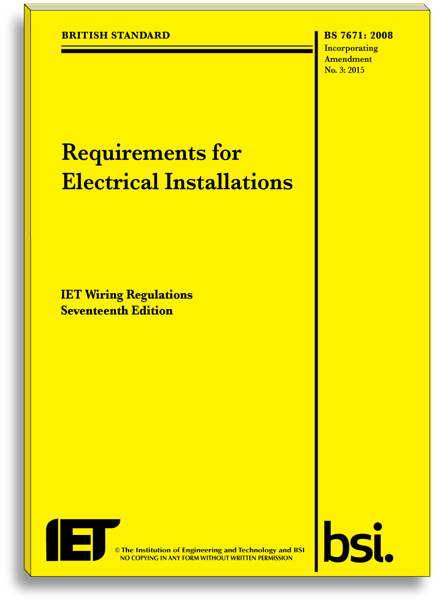 Iee wiring regulations 17th edition pdf.